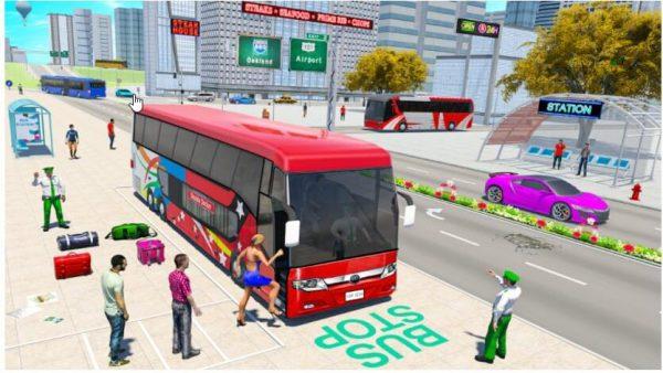 ألعاب محاكاة قيادة الحافلات