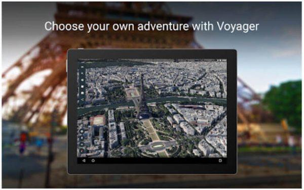 تطبيق Google Earth للهواتف اندرويد