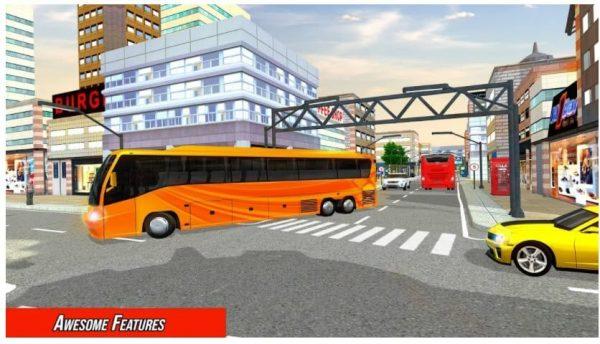 2021 عصري مدينة حافلة جهاز محاكاة